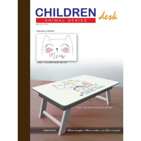 CHILDREN DESK ANIMAL