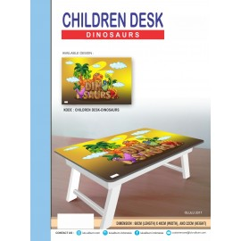 CHILDREN DESK DINOSAURS