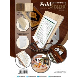 Fold Stand - Rekal Iqro - Wooden