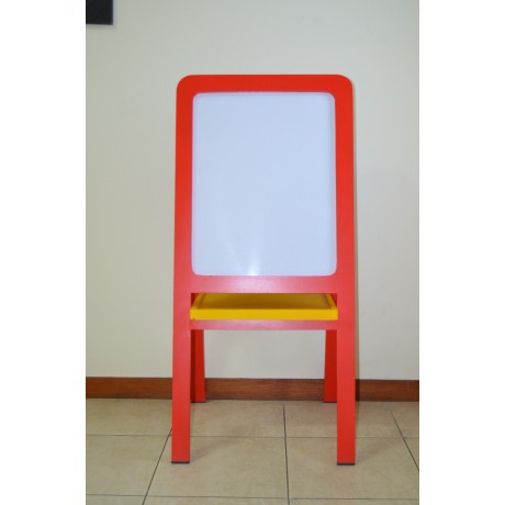 EASEL CURVE - white board and black board
