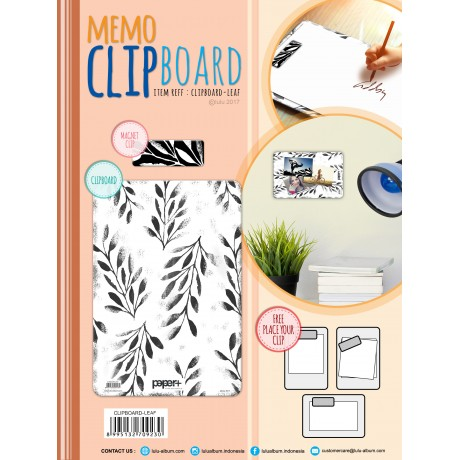CLIPBOARD - LEAF