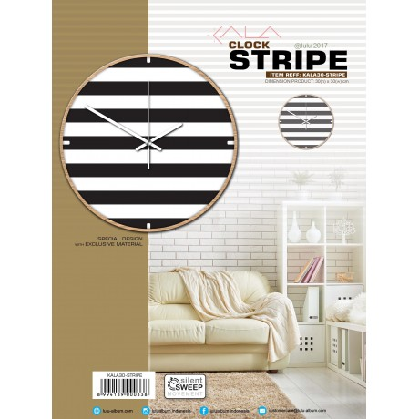CLOCK STRIPE