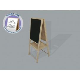 KIDS WOODEN EASEL BOARD