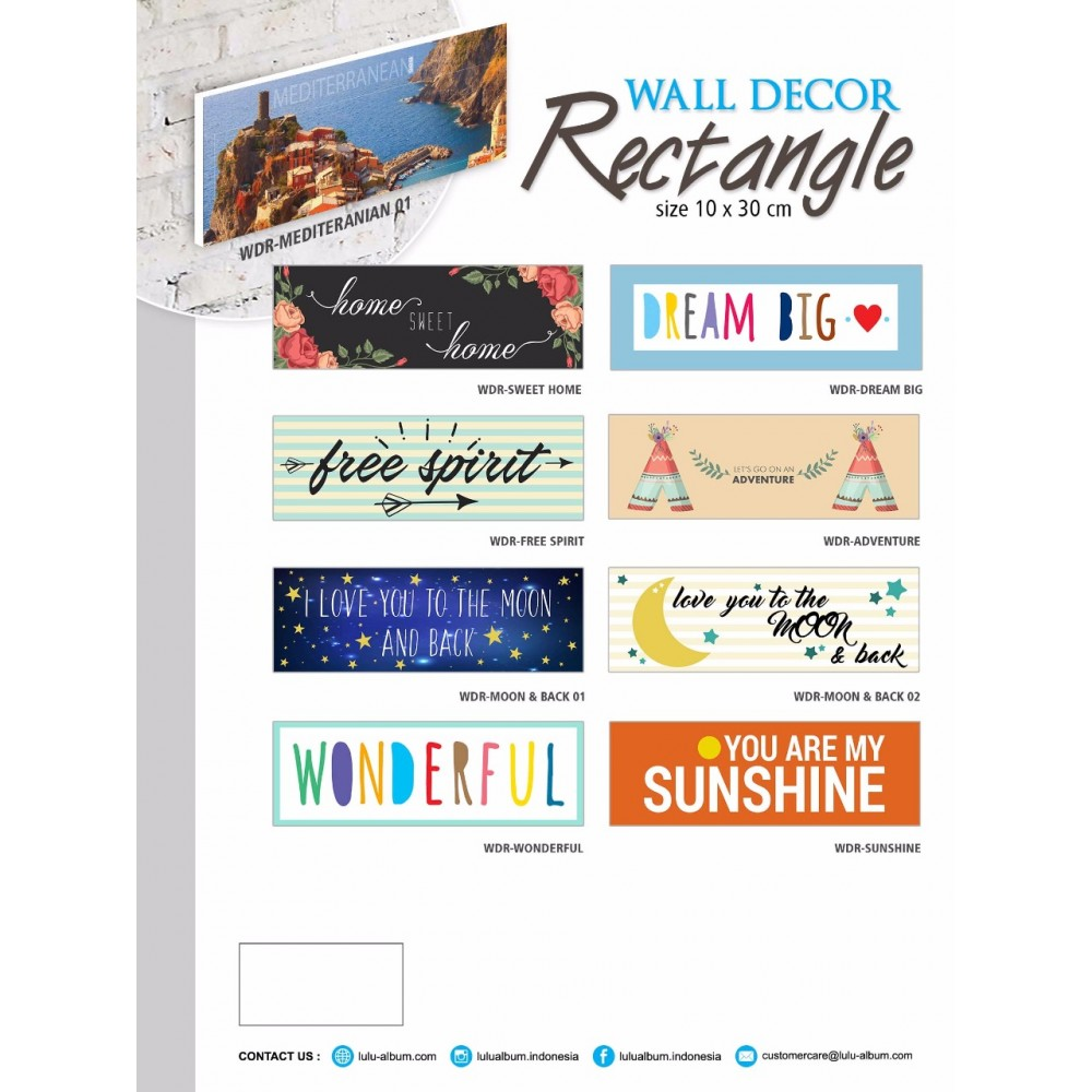 Wall Decor Rectangle 3